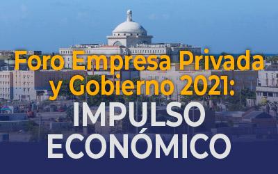 Private Sector and Government Forum 2021: Economic Development