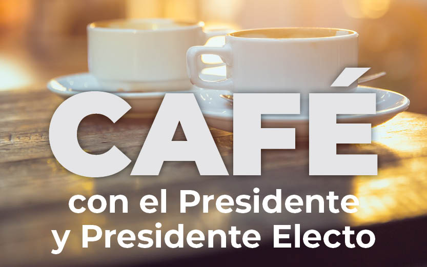 Coffee with our President and President Elect